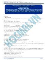 Bai 1  ly thuyet trong tam ve ancol phenol