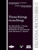 TEACHING READING by elizabeth s1  pang, et al