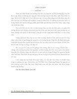 Đánh giá hiện trạng quản lý chất thải rắn sinh hoạt và đề xuất giải pháp xử lý chất thải rắn cho Thị trấn Tiền Hải tỉnh Thái Bình