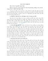 Bài thu hoạch Tiếp thu Nghị quyết XII của Đảng