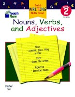 TN 3203 nouns verbs and adjectives