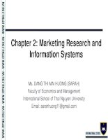Chapter 2  Foundations of Marketing