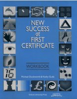 New success at first certificate   work book