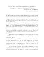 TÌM HIỂU SỰ TUÂN THỦ ĐIỀU TRỊ NGOẠI TRÚ CỦA BỆNH NHÂN  ĐÁI THÁO ĐƯỜNG TẠI BỆNH VIỆN ĐA KHOA TỈNH GIA LAI
