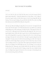 Bài văn hay viết về gia đình