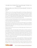"""Văn mẫu lớp 8: Cảm nhận của em về nhân vật """"tôi"""" trong truyện ngắn """"Tôi đi học"""" của Thanh Tịnh"""