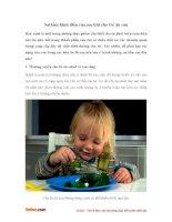 Sai lầm kinh điển của mẹ khi cho trẻ ăn rau