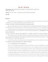 ỨNG DỤNG CÔNG NGHỆ THÔNG TIN TRONG đổi mới PHƯƠNG PHÁP GIẢNG dạy HIỆN NAY