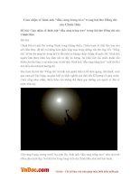 """Văn mẫu lớp 9: Cảm nhận về hình ảnh """"đầu súng trăng treo"""" trong bài thơ Đồng chí của Chính Hữu"""