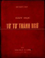 Thành ngữ Hán Việt  Hồ Đắc đàm