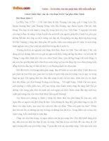 Phân tích giá trị hiện thực đoạn trích Vào phủ chúa Trịnh của Lê Hữu Trác