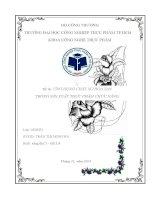 ứng dụng chất xơ hòa tan trong sx TPCN
