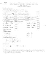 32 Đề KIỂM TRA môn toán lớp 5