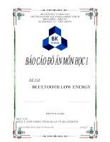 đồ án công nghệ bluetooth 4.0