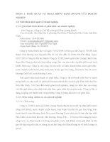 Báo cáo thực tập Công ty TNHH nước giải khát Quang Hanh