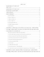 Báo cáo kiến tập: Thực trạng và giải pháp nâng cao hiệu quả công tác đào tạo bồi dưỡng cán bộ công chức tại Tòa Án Nhân Dân huyện Mê Linh