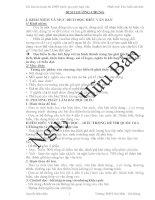 (Tài liệu ôn thi THPTQG môn văn) phần đọc HIỂU văn bản
