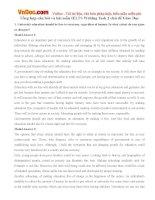 Tổng hợp câu hỏi và bài mẫu IELTS Writing Task 2 chủ đề Giáo Dục