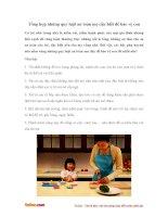 Tổng hợp những quy luật an toàn mẹ cần biết để bảo vệ con