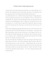 Bài văn tả về ngôi trường của em