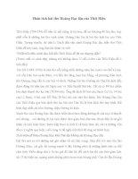 Phân tích bài thơ Hoàng Hạc lâu của Thôi Hiệu