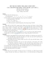 Giải thích ngữ pháp tiếng anh (Bài tập + Đáp án )