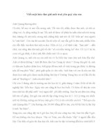 Viết thư gửi anh trai yêu quý của em