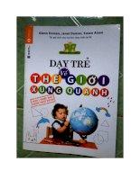 Sách dạy trẻ thế giới xung quanh của Glenn Doman