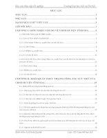Báo cáo thực tập tốt nghiệp văn thư  lưu trữ tại UBND HUYỆN TĨNH GIA  Thanh Hóa