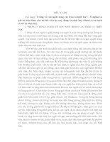 TƯ TƯỞNG về CON NGƯỜI TRONG các TRÀO lưu TRIẾT học   ý NGHĨA TRONG PHÁT HUY NHÂN tố CON NGƯỜI ở nước TA HIỆN NAY