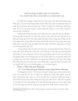 TIỂU LUẬN TRIẾT HỌC - NHÂN SINH QUAN PHẬT GIÁO và ẢNH HƯỞNG của nó đến đời SỐNG TINH THẦN NGƯỜI VIỆT NAM