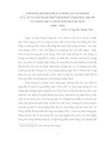 5 ĐƯỜNG LỐI CỦA ĐẢNG, SỰ LÃNH đạo CỦA XỨ UỶ TRUNG KỲ đối VỚI PHONG TRÀO đấu TRANH CỦA ĐẢNG BỘ VÀ NHÂN DÂN QUẢNG NGÃI