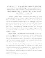 TƯ TƯỞNG của lê NIN về cơ cấu xã hội và đấu TRANH GIAI cấp TRONG tác PHẨM  KINH tế CHÍNH TRỊ TRONG THỜI đại CHUYÊN CHÍNH vô sản