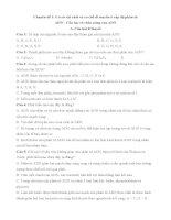 Chuyên đề 1:  ADN   cấu trúc và chức năng