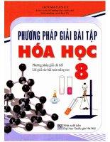 Ebook phương pháp giải bài tập hóa học 8 phần 1