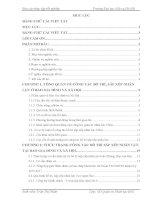Báo cáo thực tập quản trị nhân lực: Công tác bố trí, sắp xếp nhân lực ở báo gia đình và xã hội