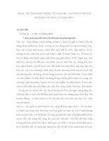 """Tiểu luận báo in XU THẾ PHÁT TRIỂN của báo IN – HƯỚNG đi TRONG THỜI đại """"số hóa và KIM TIỀN"""""""