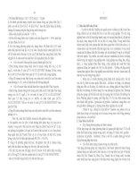 (Tóm tắt luận án tiến sĩ Hóa học) NGHIÊN CỨU PHÂN TÍCH XÁC ĐỊNH HÀM LƯỢNG VÀ BIỆN PHÁP XỬ LÍ XIANUA TRONG NƯỚC THẢI BẰNG PHƯƠNG PHÁP HÓA HỌC VÀ SINH HỌC