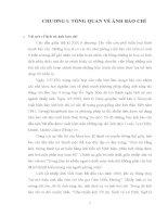 tiểu luận cao học ảnh báo chí TỔNG QUAN về ẢNH báo CHÍ
