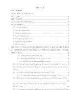 Báo cáo thực tập quản trị nhân lực: Công tác đào tạo, bồi dưỡng cán bộ, công chức tại UBND huyện ý yên