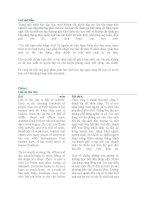 (Tiếng Anh)Các bài luận mẫu tiếng Anh