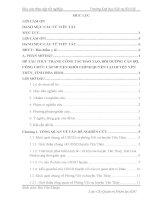 Báo cáo thực tập quản trị nhân lực: THỰC TRẠNG CÔNG tác đào tạo, bồi DƯỠNG cán bộ, CÔNG CHỨC cấp HUYỆN KHỐI CHÍNH QUYỀN tại  HUYỆN yên THỦY, TỈNH hòa BÌNH