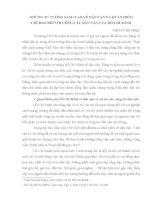1 NHỮNG TƯ TƯỞNG SÁNG TẠO VỀ DÂN VẬN VÀ QUAN ĐIỂM CHỈ đạo đối VỚI CÔNG TÁC DÂN VẬN CỦA HỒ CHÍ MINH