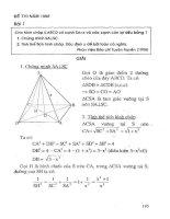 Tuyển tập 230 bài toán Hình học không gian chọn lọc: Phần 2