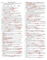 UNIT 2 KEY Bài tập mai lan hương lớp 11