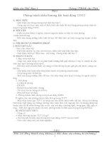 Giáo án thể dục 7 mới