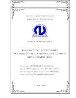 Báo cáo thực tập tốt nghiệp quản trị văn phòng tại UBND PHƯỜNG QUAN HOA