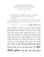 TÀI LIỆU HƯỚNG DẪN ÔN TẬP MÔN NGHIỆP VỤ CÔNG TÁC VĂN PHÒNG (Phần thi viết, dùng cho thi tuyển Công chức Văn phòng – Thống kê cấp xã)