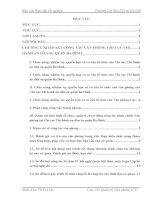 Báo cáo thực tập tốt nghiệp quản trị văn phòng tại Chi cục thi hành án dân sự quận ba đình