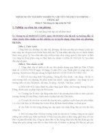 NỘI DUNG ôn tập môn NGHIỆP vụ CHUYÊN NGÀNH văn PHÒNG – THỐNG kê (viết + trắc nghiệm)